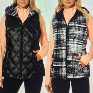 Gerry Down Reversible Packable Hooded Puffer Vest